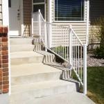 white handrail installer pocatello